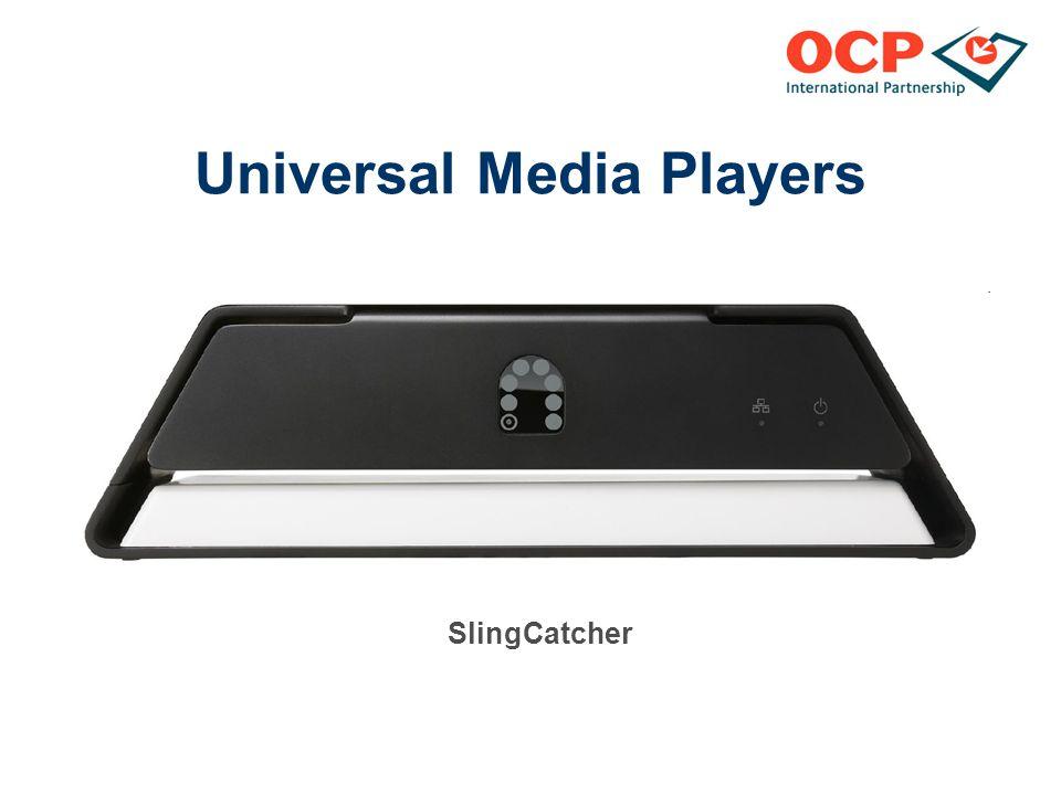 Universal Media Players SlingCatcher