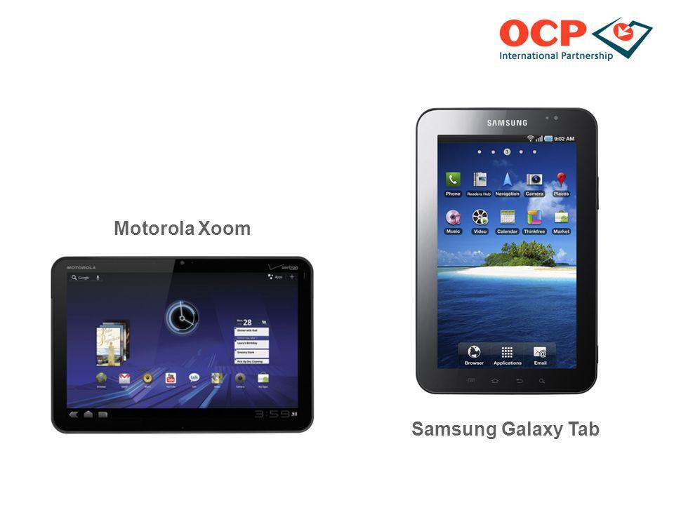 Motorola Xoom Samsung Galaxy Tab