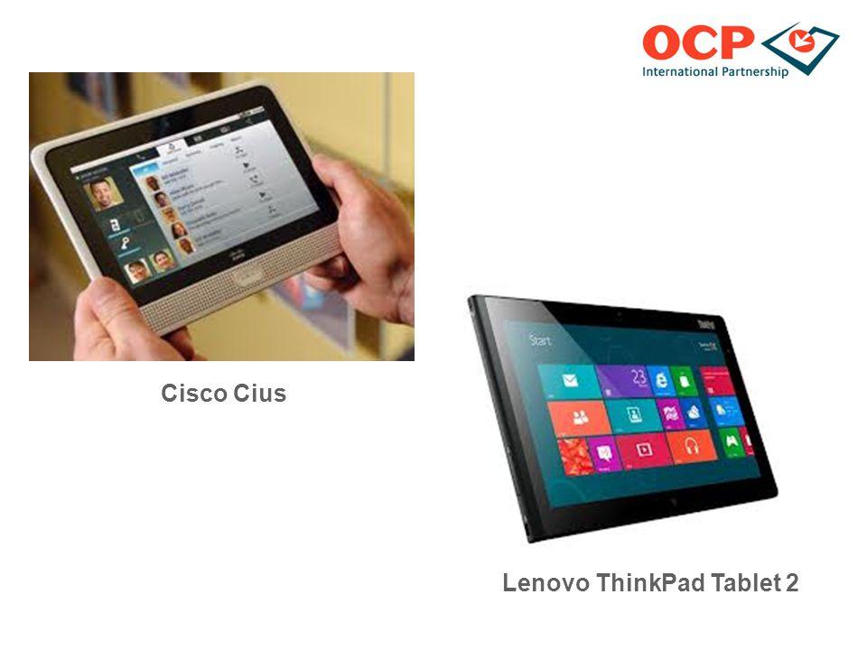 Cisco Cius Lenovo ThinkPad Tablet 2