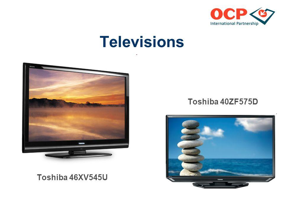 Televisions Toshiba 40ZF575D Toshiba 46XV545U