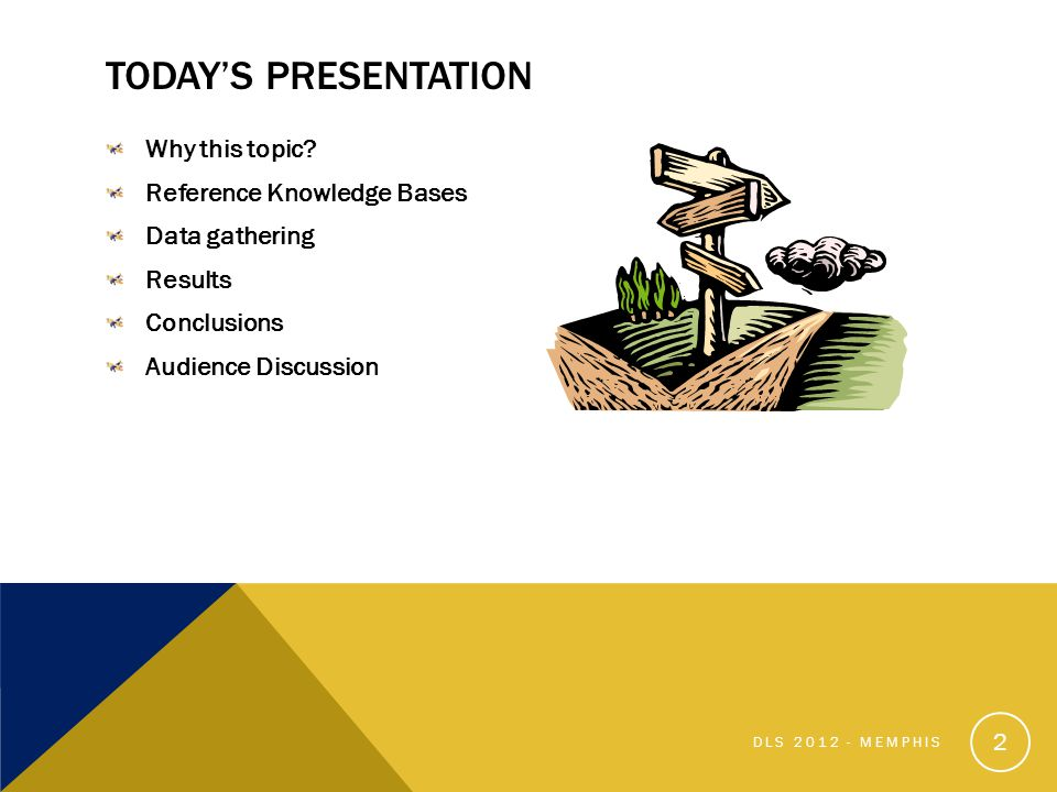TODAYS PRESENTATION Why this topic.
