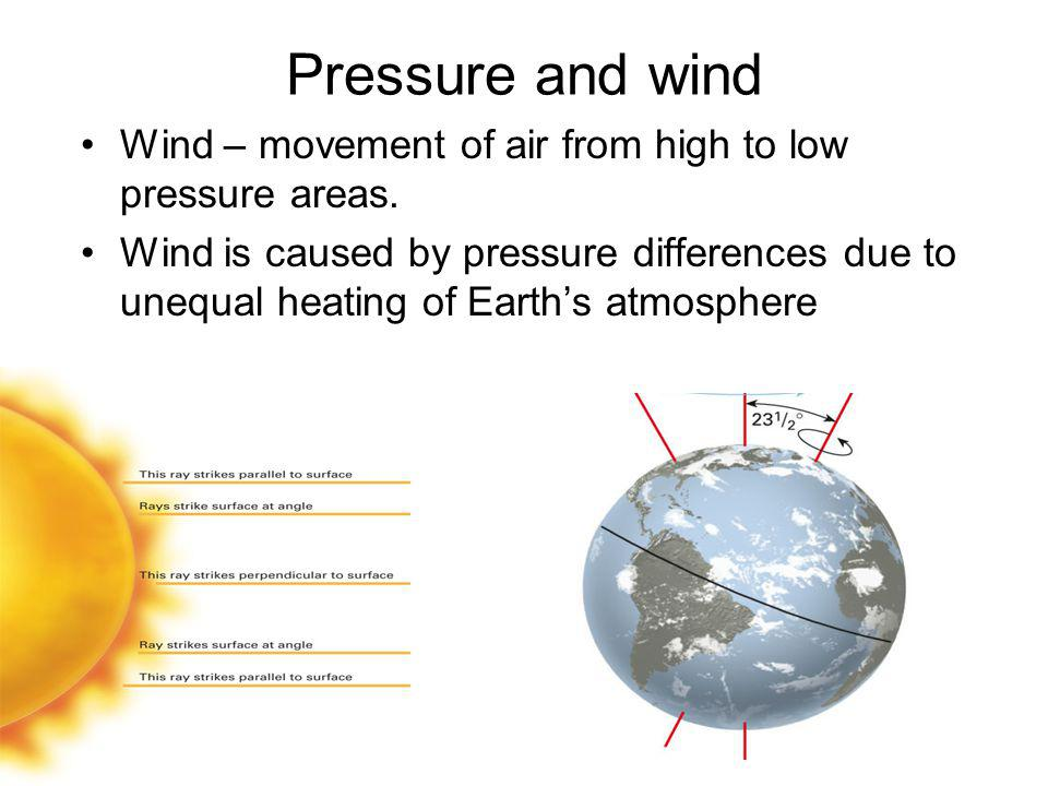 Winds in the Upper Atmosphere Rossby Waves and the Jet Stream geostrophic wind: theoretical wind that would result from an exact balance between the Coriolis Effect and the pressure gradient.