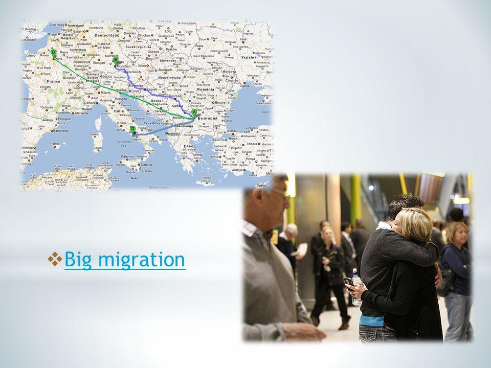 Big migration