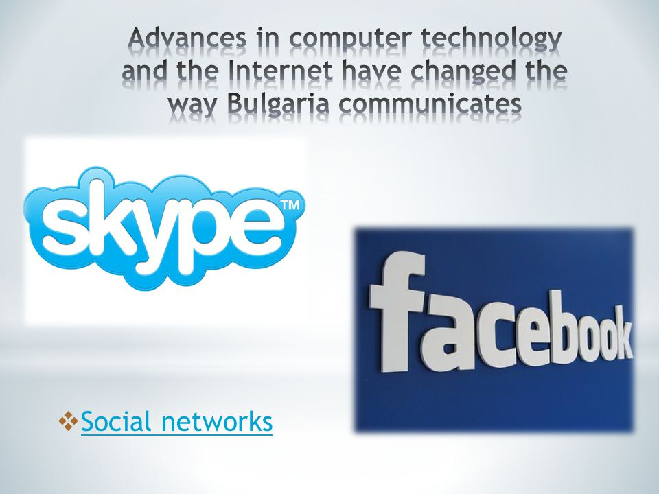 Internet has become indispensable to social life in Bulgaria.