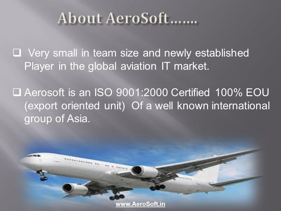 About AeroSoft…….