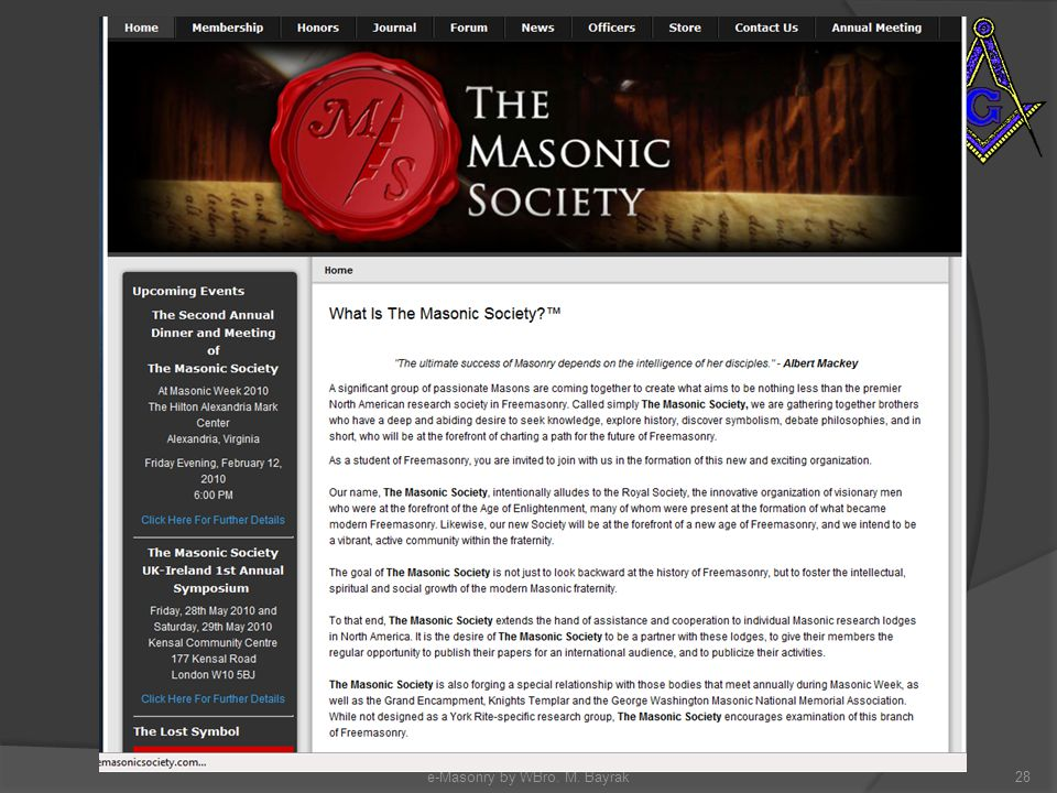 e-Masonry by WBro. M. Bayrak28