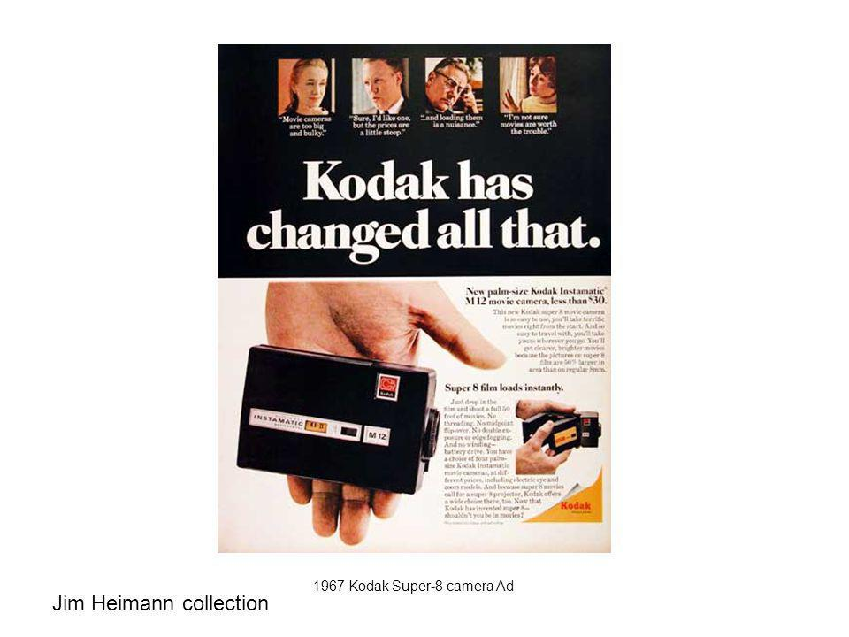 1967 Kodak Super-8 camera Ad Jim Heimann collection