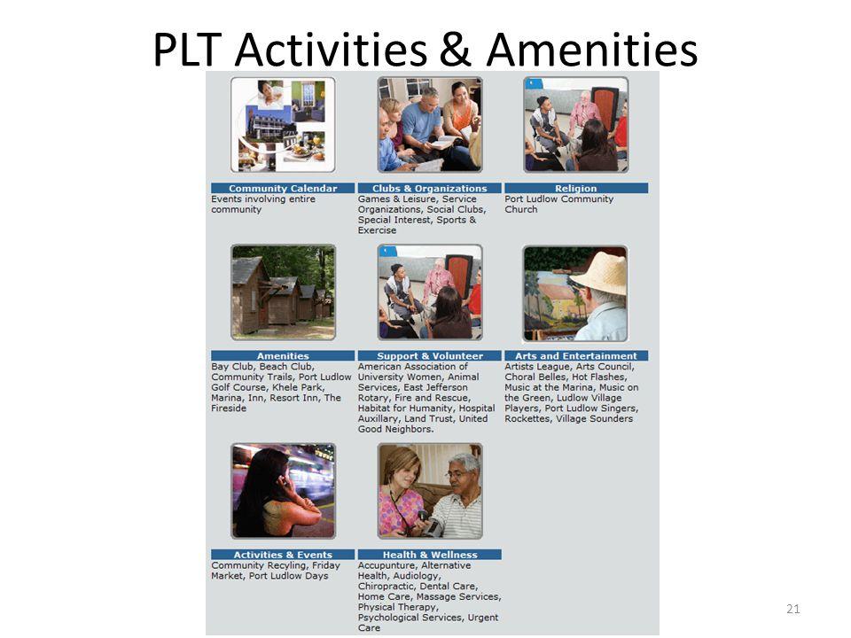 PLT Activities & Amenities 21