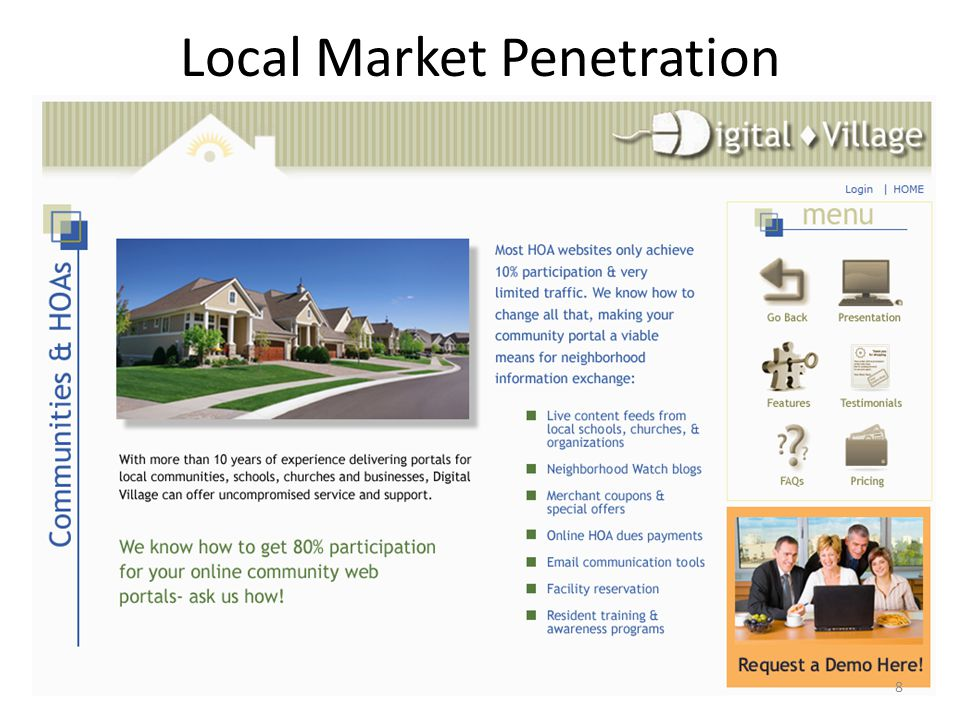 Local Market Penetration 8