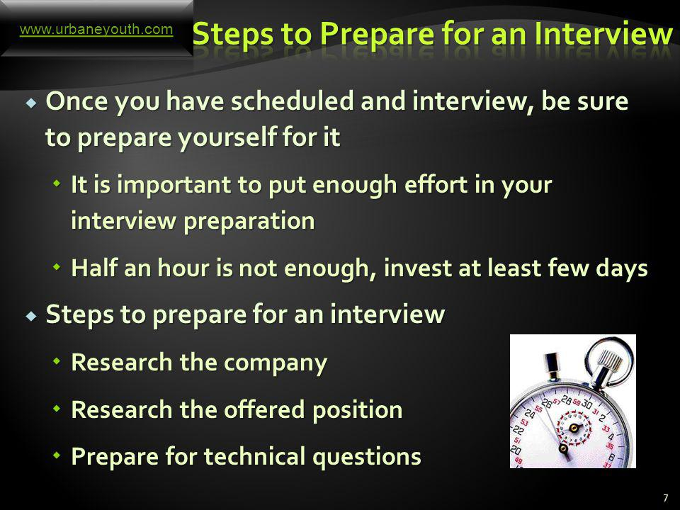 What is the Best Way to Prepare Yourself for an Upcoming Interview