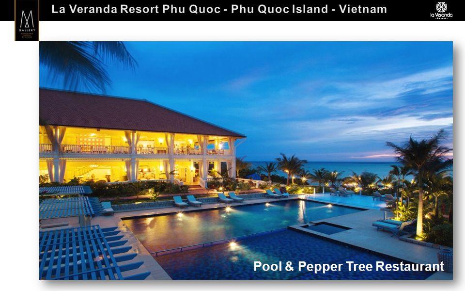 Hotel factsheet o No of room 70 rooms – 34 Deluxe Rooms (36 sq.m), 12 Deluxe Room Sea View (36 sq.m) 15 Deluxe Villa (50 sq.m), 3 Junior Suite Villa (68 sq.m) and 6 La Veranda Suites (69 sq.m).