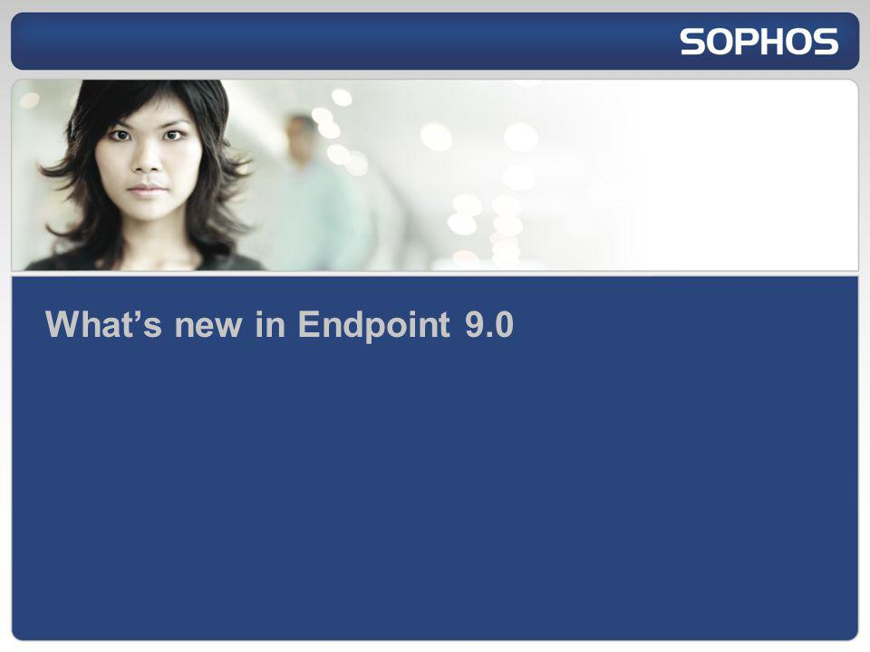 Whats new in Endpoint 9.0