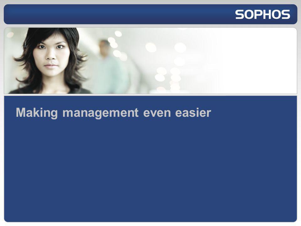 Making management even easier