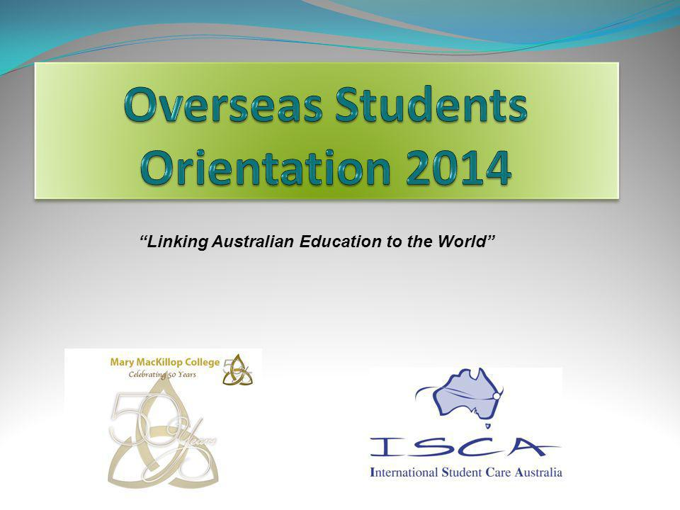 Linking Australian Education to the World