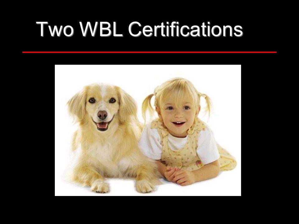 35 Two WBL Certifications