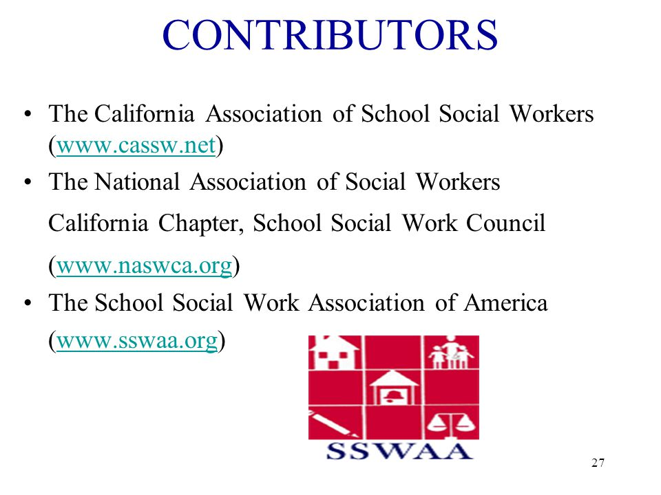 26 For supporting school social workers in your public schools.