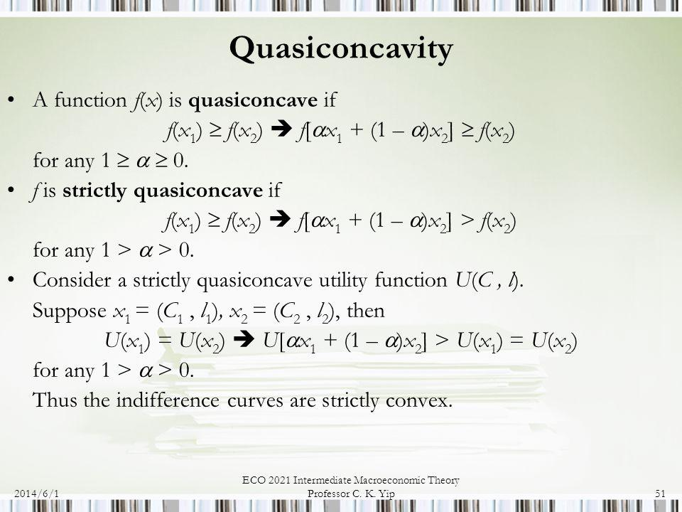2014/6/1 ECO 2021 Intermediate Macroeconomic Theory Professor C.