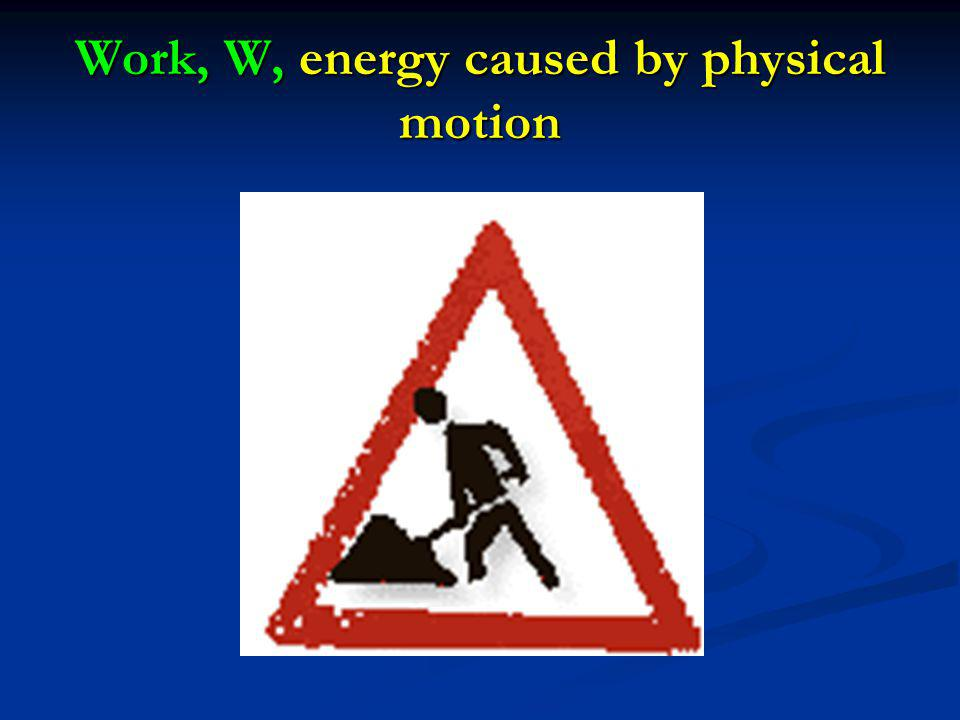 WORK W is positive if work is done by system.Air does work on the environment: W > 0.