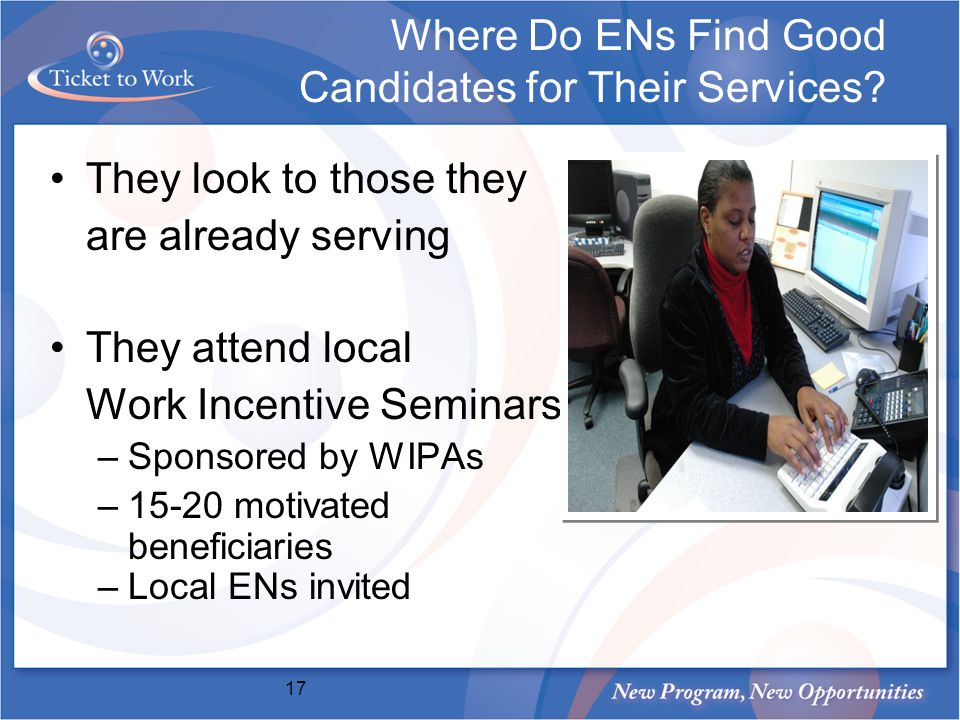 Where Do ENs Find Good Candidates for Their Services.