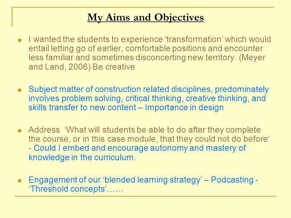 T5 Professional body competencies Preparing development appraisals 2.