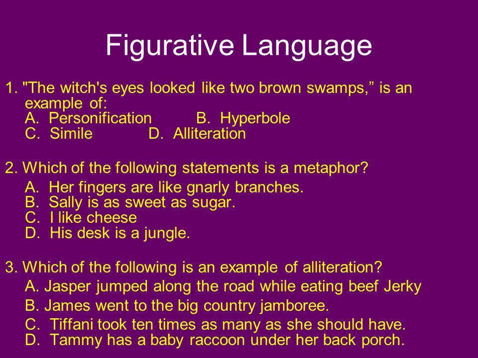 Figurative Language 1.