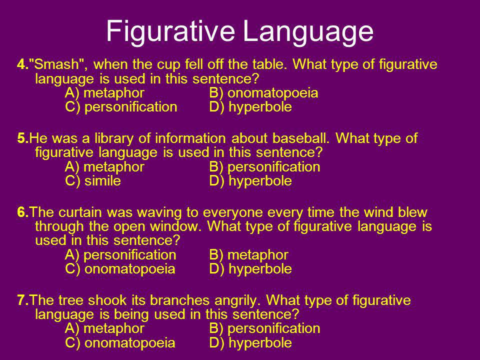 Figurative Language 4.
