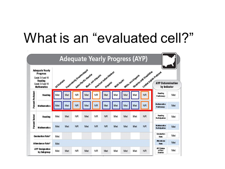 What is an evaluated cell