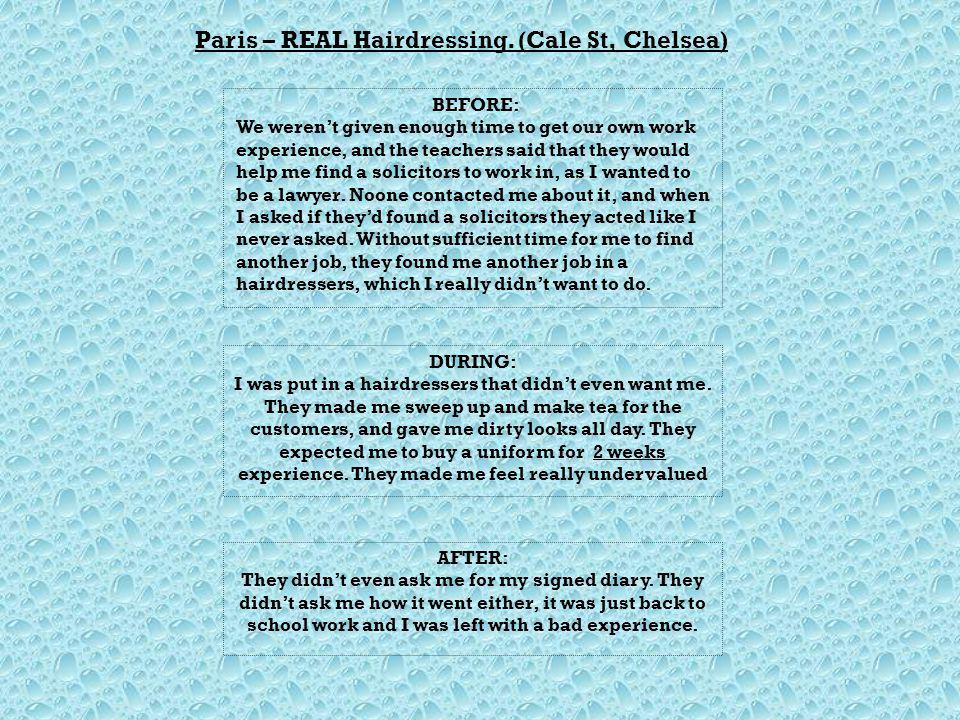 Paris – REAL Hairdressing.