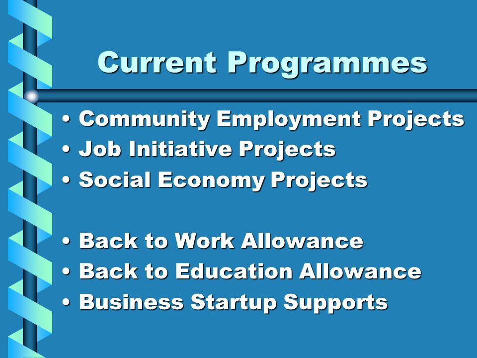 Community Employment ProjectsCommunity Employment Projects Job Initiative ProjectsJob Initiative Projects Social Economy ProjectsSocial Economy Projec