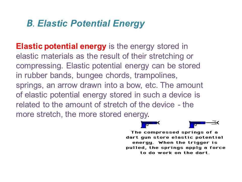 To summarize, potential energy is the energy which is stored in an object due to its position relative to some zero position.