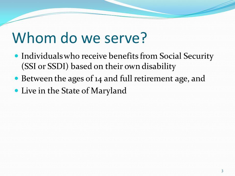 Whom do we serve.