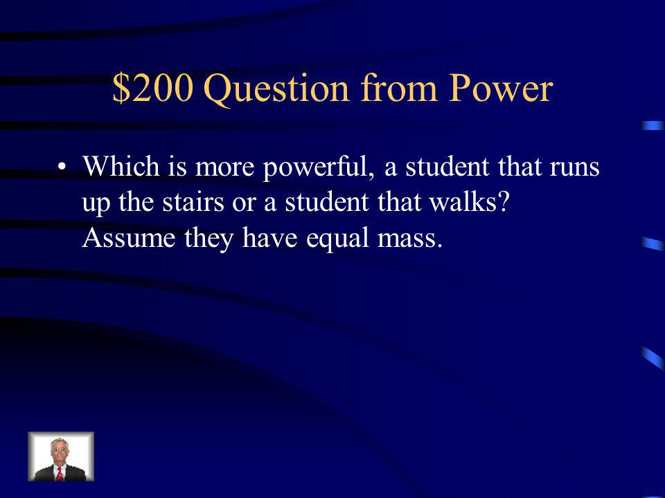 $100 Answer from Power B.
