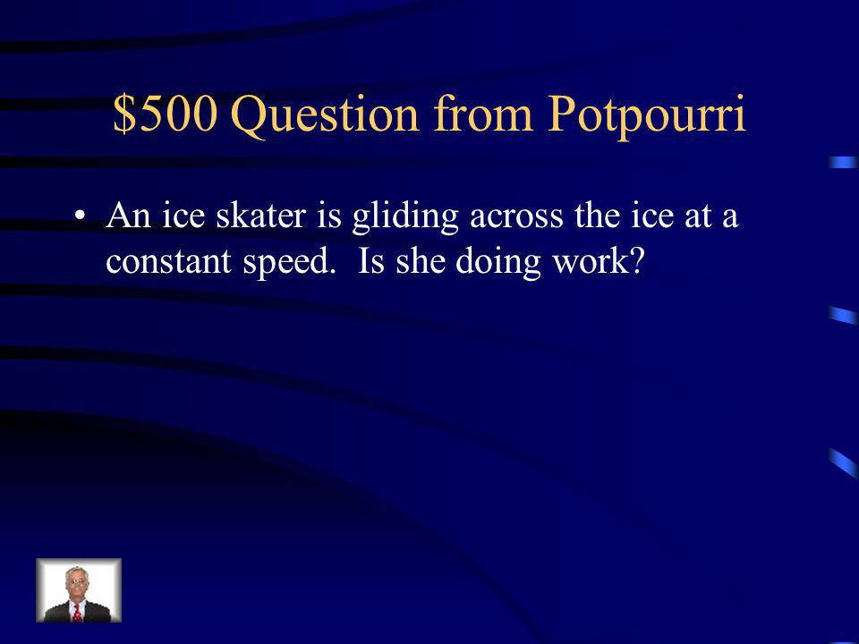 $400 Answer from Potpourri Neither. Gravity accelerates all objects the same regardless of mass.