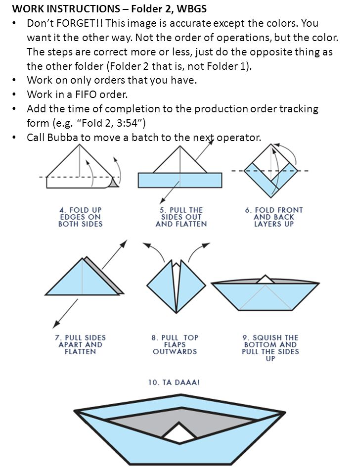 Centered Centered on the left side of the boat Centered Centered on the left side of the boat WORK INSTRUCTIONS – Stamper, EITHER Work on only orders that you have.