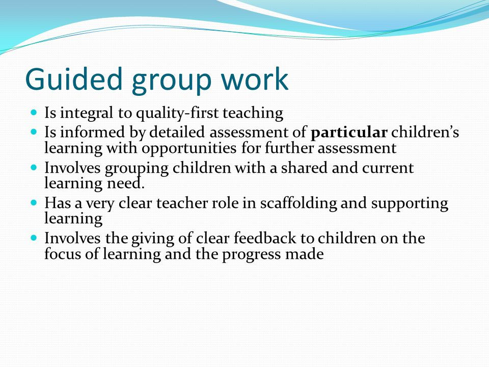 Practical ways to deal with potential obstacles High expectations of standards of learning and behaviour Making learning intentions clear The learning environment ( how can it be used to support independent learning?) Strategies to develop and support pupils working independently