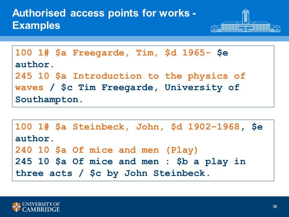 100 1# $a Freegarde, Tim, $d 1965- $e author.
