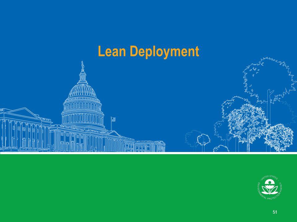 Lean Deployment 51
