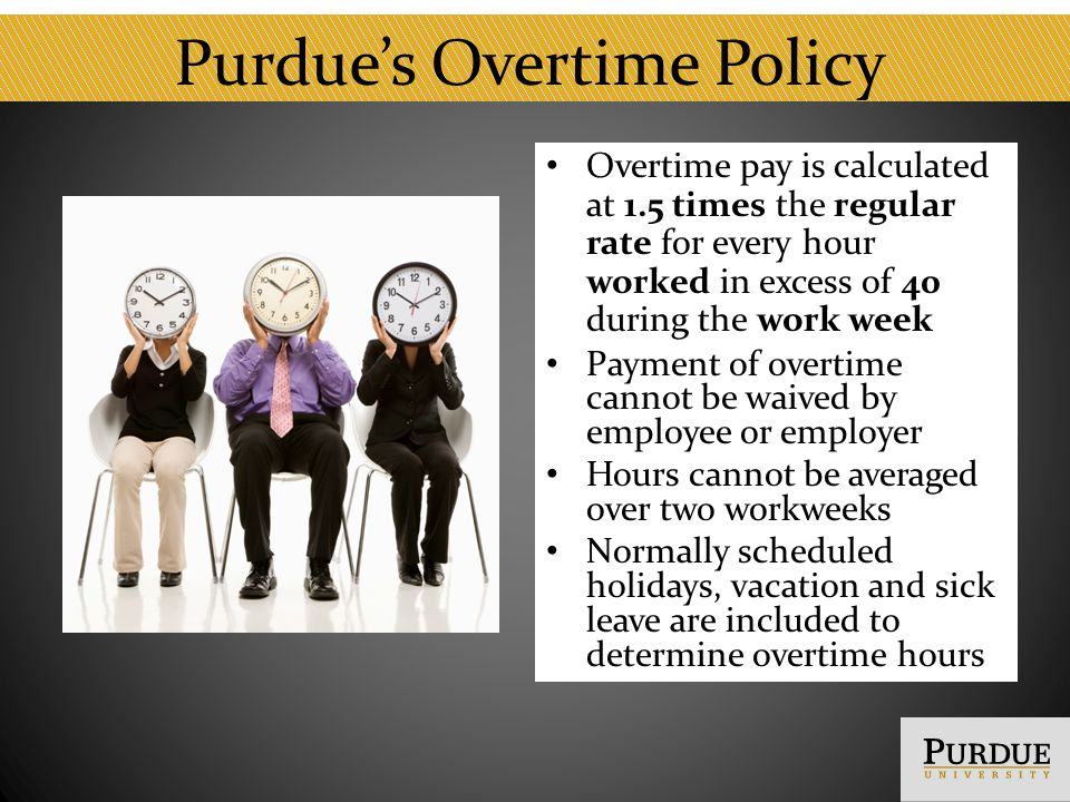 Conclusion For questions about this training please contact vpeceducation@purdue.edu.