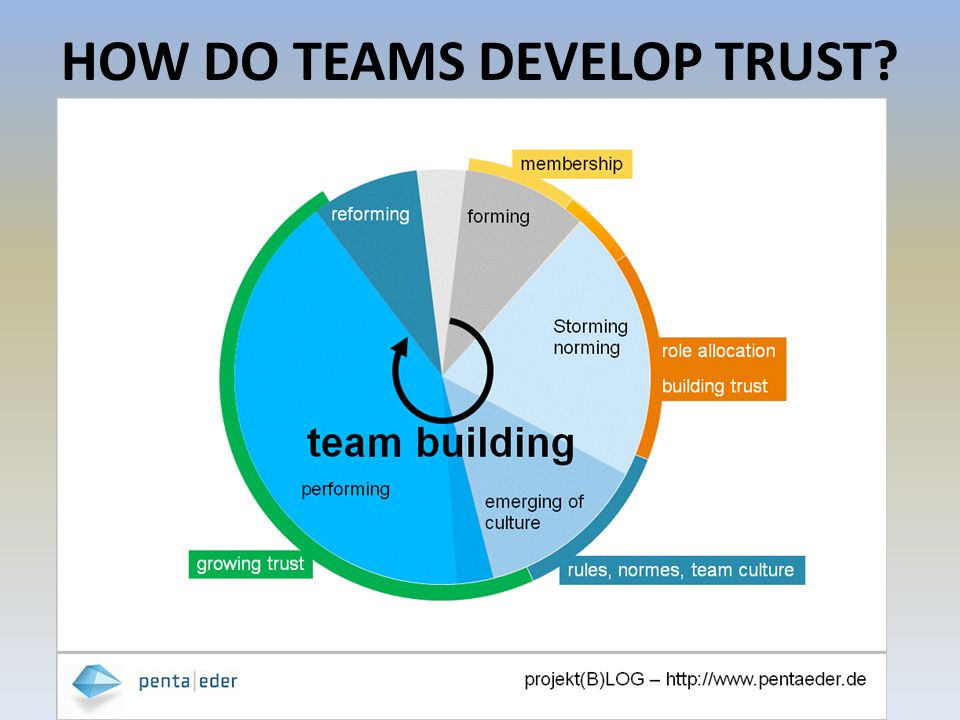 HOW DO TEAMS DEVELOP TRUST?