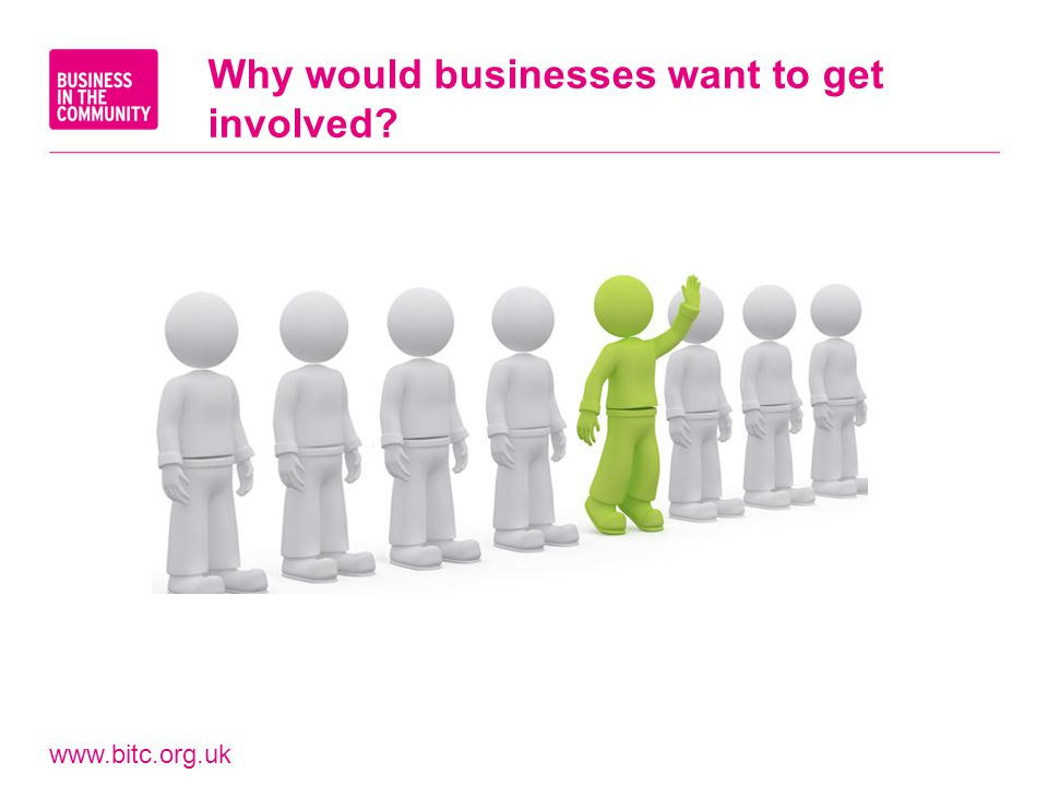 www.bitc.org.uk Why would businesses want to get involved?