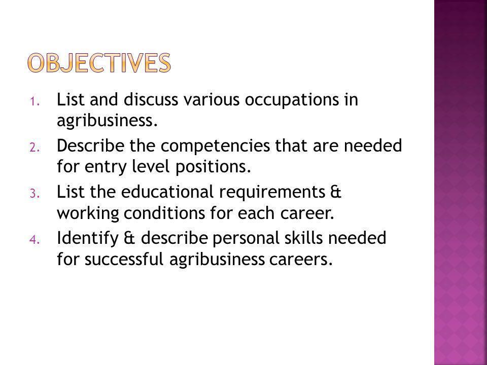 Career – Agricultural Economist Job Description - Studies data and statistics in order to spot trends in economic activity, economic confidence levels and consumer attitudes.
