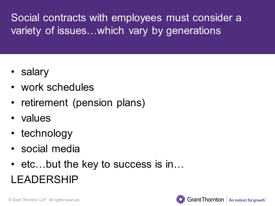 © Grant Thornton LLP. All rights reserved.