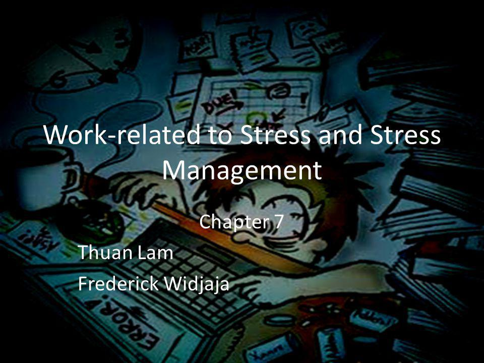 What is stress .