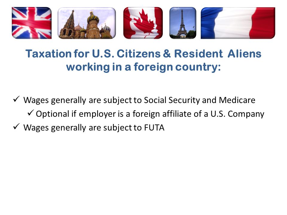 Resident aliens should obtain a U.S.