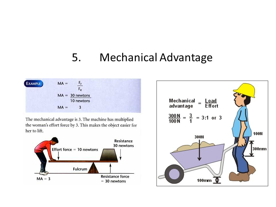 5.Mechanical Advantage