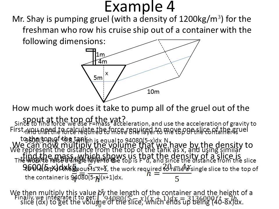 Example 4 Mr.