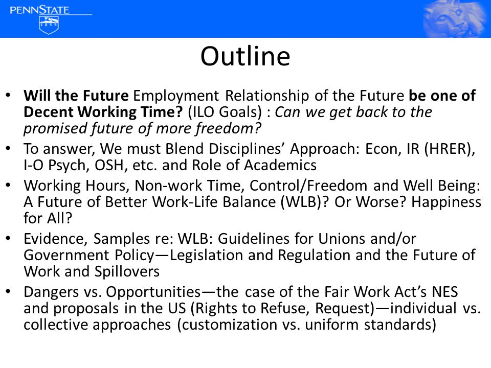 Employer decides44.79 % I decide within limits40.18 % Free to decide 15.03 % Who set working hours Almost half perceive no voice in scheduling work