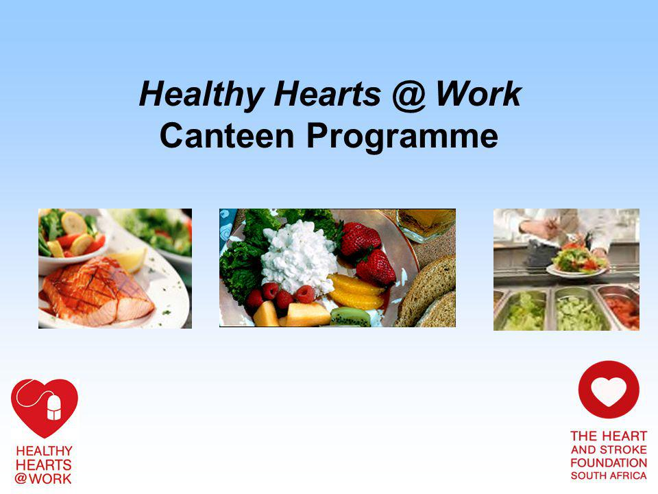 Healthy Hearts @ Work Canteen Programme