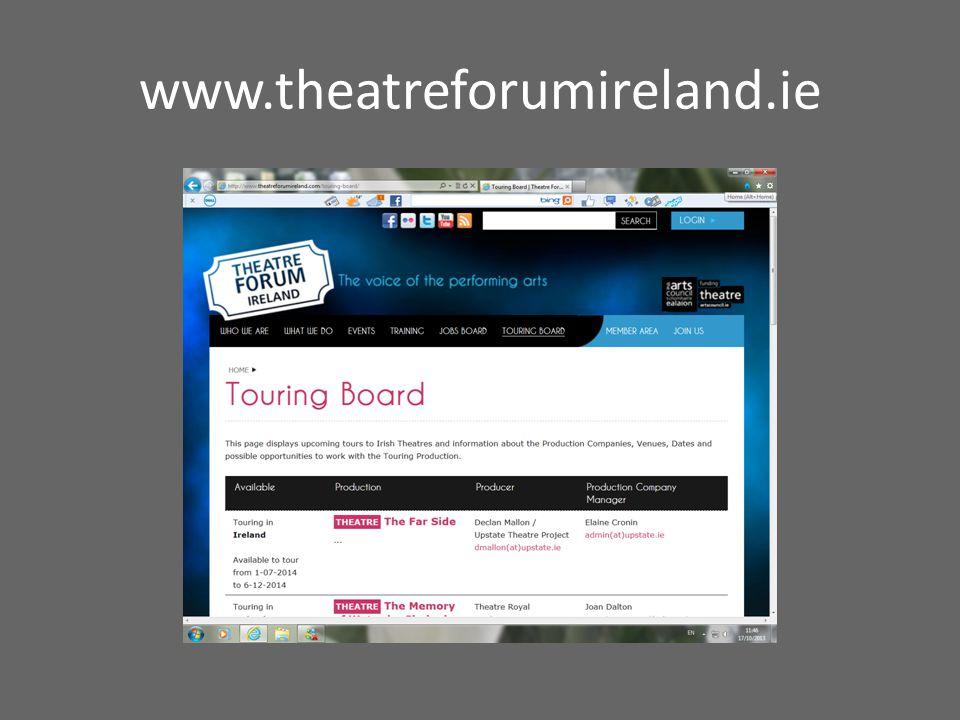 www.theatreforumireland.ie