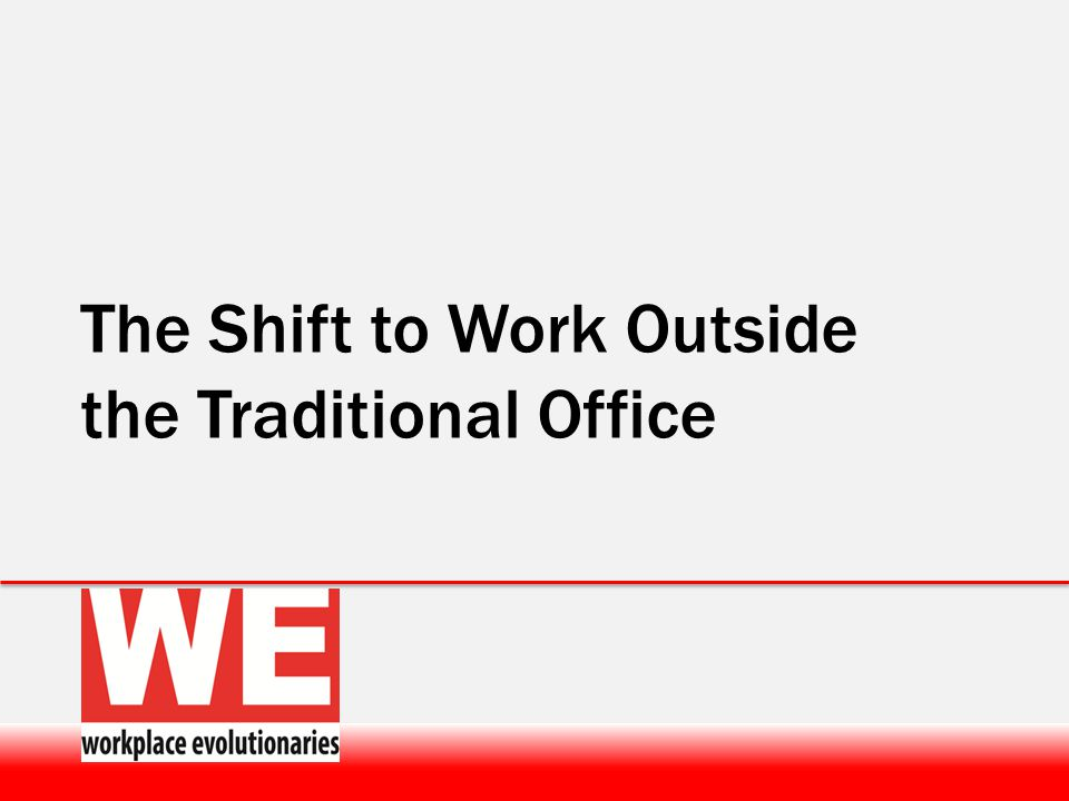 A global Workplace community focused on increasing Workplace Innovation & Consciousness At World Workplace 1 st time ever….